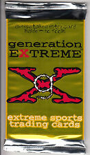 """1994 Vision - Generation Extreme"""" - EXTREME Sports Cards   3 RARE Unopened Packs"""