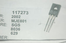 Sgs Mje801 Darlington Transistor Npn 60V 4A To126 New Lot Qty-5