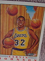 1991 Fleer Magic Johnson #6 Basketball Card