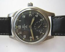 STUNNING MEN OMEGA WWW MILITARY ARROW MANUAL WINDING WRIST WATCH SWISS MADE