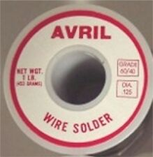 1 LB 60/40 Avril Stained Glass Solder - Made in USA