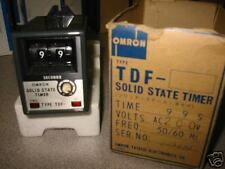 OMRON TIMER SOLID STATE 99 S TYPE TDF-