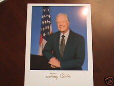 Prepinted Autographed photo of President Jimmy Carter
