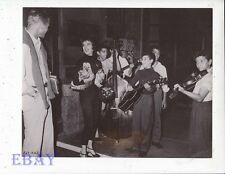 Natalie Wood Tab Hunter candid 1956 VINTAGE Photo