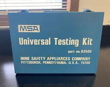 MSA UNIVERSAL TESTING KIT PART #83500