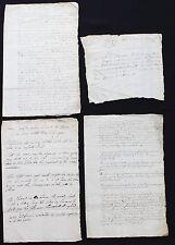 1639 Scotland 4 manuscripts England Bishop's War Scottish Commissioners