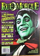 Rue Morgue - Horror Magazine - Issue #62 - Hilarious House of Frightenstein
