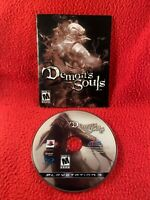 Demon's Souls PlayStation 3 PS3 -GAME DISC & MANUAL ONLY- USA Cleaned Working