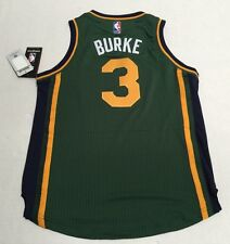 Utah Jazz Official NBA Adidas Kids Youth Size Trey Burke Swingman Jersey New