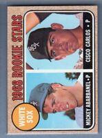 1968 Topps 287 White Sox Rookie Stars VG-EX SET BREAK