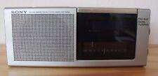 Sony radio despertador icf-c20w Electronic Clock radio Vintage
