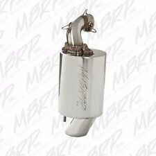 MBRP Polished Stainless SILENCER 15-17 POLARIS 600 800 AXYS PRO S PRO X RMK RUSH