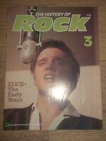 "THE HISTORY OF ROCK MAGAZINE ISSUE 3 - ELVIS PRESLEY COVER "" THE EARLY YEARS"
