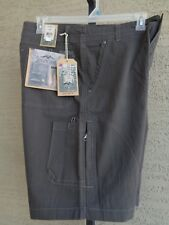 """Pacific Trail Terrain 10"""" Shorts with Sun Protection & Quick Dry 38 Waist Coal"""