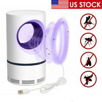 Electric Mosquito Bug Fly Moth Killer Trap Lamp Photocatalytic Light Indoor USB