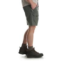 CARGO SHORTS WRANGLER® HIKER straight leg Large size flex waistband multi-pocket