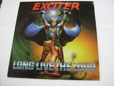 EXCITER - LONG LIVE THE LOUD - LP VINYL EXCELLENT CONDITION 1985