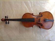 Vieja violín violín cabeza león 59,5 cm full size carteles Pauli