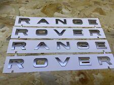 Range Rover Evoque/Sport scritte Grigie Originali