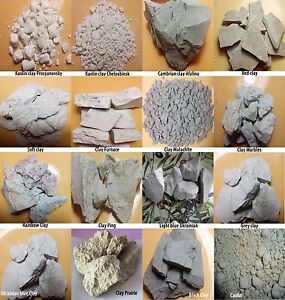 Edible clay,clay for face,clay face masks,10 TYPE 400gr,YOUR CHOICE