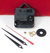 "Quartz Battery Clock Movement LIFETIME WARRANTY For 3/8"" Thick Dial SWORD HANDS"