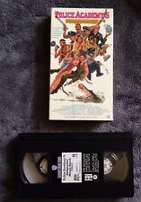 Police Academy 5: Assignment: Miami Beach (1988) - VHS Video Tape- Comedy - Rare