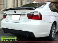 05-11 BMW E90 MT Carbon Fiber Trunk Spoiler Lip fit 323i 325i 328i 330i 335i 4Dr
