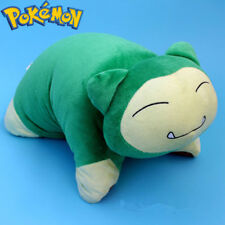 Fashion Snorlax Pokemon Cartoon Transforming Pet Pillow Cushion Plush Dolls Toys