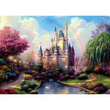 500 Pieces Adult Puzzle Fairytale Castle Rainbow Jigsaw Educational Toys Gift
