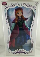 """New Disney Store Frozen Anna 17"""" Limited Edition Collector Doll LE 5000 Sold Out"""