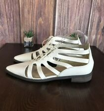 Forever 21 Caged Lace Up Pointy Toe Shoes Women's Size 10