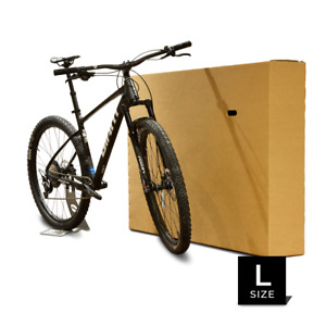 Bianchi Bicycle Bike Large Cardboard Box Courier Approved Transport Or Storage