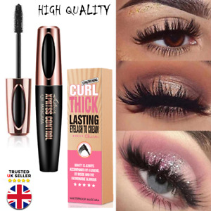 4D Silk Fibre Mascara Eyelash Waterproof Extension Volume Make Up Long Lasting