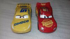 CARRERA GO!!!   LIGHTNING McQUEEN  & DINOCO CRUZ CARS
