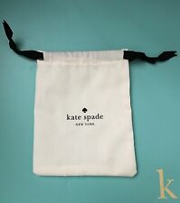 Kate Spade New York Small Jewelry Drawstring Storage Dust Bag Cover New