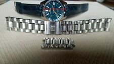 Grand Seiko 19 mm Stainless Steel Bracelet 44GS Case, high beat gmt spring drive