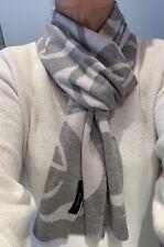 Gucci Men's scarf Wool light grey.