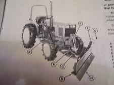 Vintage John Deere Operators Manual -#365 & 375 Front Blades - 1978