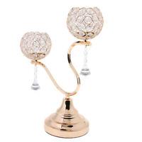 Crystal Votive Tea Light Candle Holder Candlestick For Wedding Banquet Decor