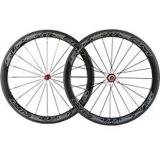 High quality Carbon Wheels 50mm Clincher Road Bike Carbon Wheelset R36 Hub