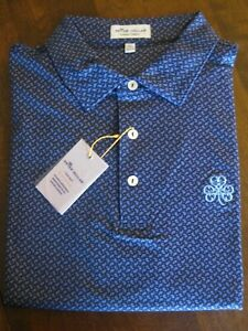 NWT Peter Millar Summer Comfort Erin Hills Golf Course Polo - Size XL - $98