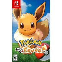 POKEMON: LET'S GO EEVEE! - NINTENDO SWITCH 2018 GAME - BRAND NEW SEALED