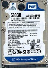 Western Digital WD5000BPVT-35HXZT1 500GB DCM: EBOT2BB
