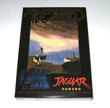 FIRST RELEASE 2013!! Another World - Atari Jaguar BRAND NEW!! ONLY 200 EVER MADE
