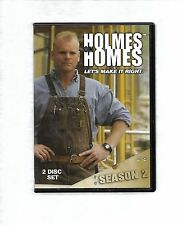HOLMES ON HOMES Season 2 RARE 2 disc set R0