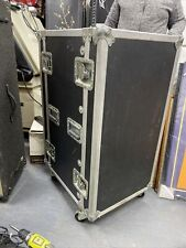 LM Engineering Road Travel CASE Lockable A/V DJ Shipable Case 19' Rack