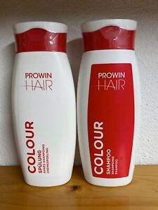 proWIN HAIR SET: Colour Shampoo 250ml + Colour Spülung 250ml -- NEU -- coloriert