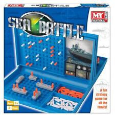BATTLESHIPS SEA BATTLE TRADITIONAL FAMILY FUN COMBAT STRATEGY BOARD GAME KIDS
