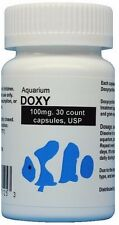 Fish Doxy, Aquarium Doxy, 100mg. 30 count. USP antibiotic water treatment