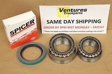 DANA 60 FRONT WHEEL BEARINGS & SEAL KIT TIMKEN OR SPICER CHEVY GMC KING PIN K30
